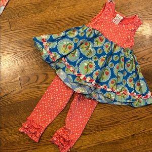 Matilda Jane kids size 6 outfit